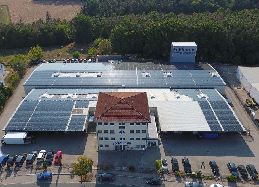 Hauptverwaltung, Langenzenn, Logistik