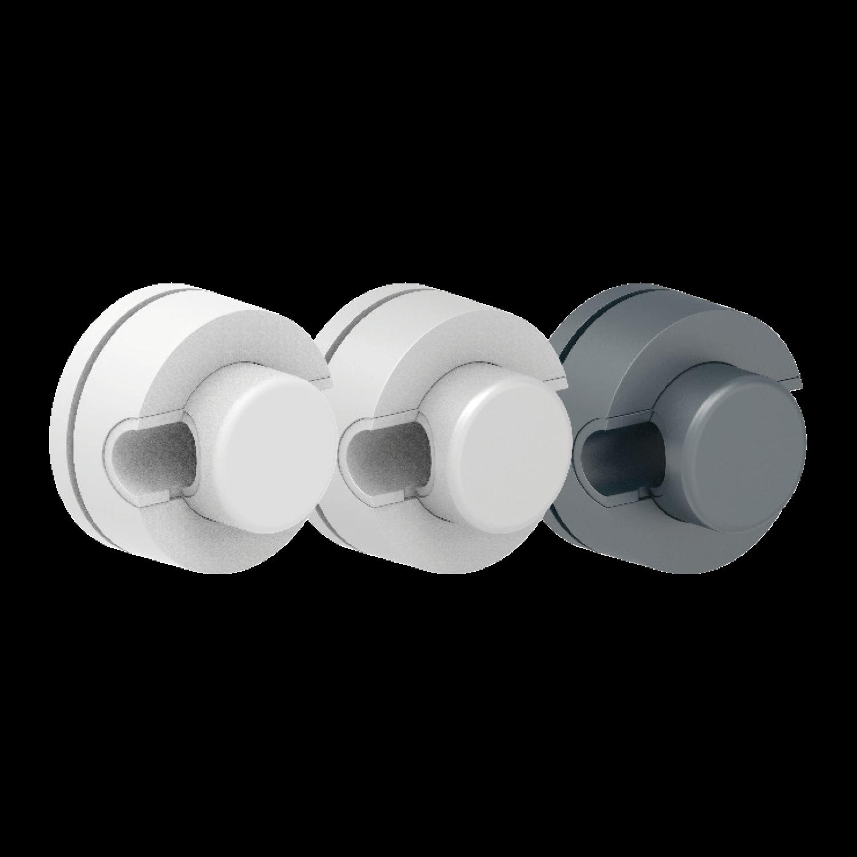 Brenk-fix® Kunststoffhalter für Rundstäbe