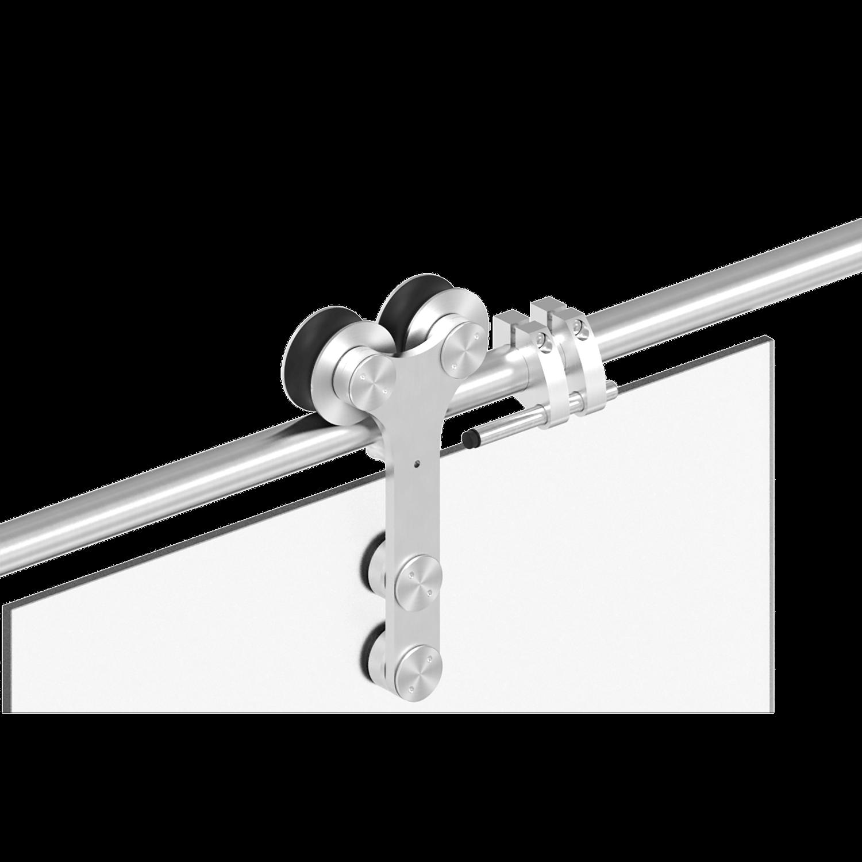 Glasschiebetür - Detail