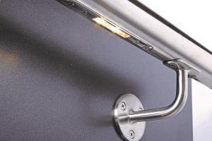 Handlauf, beleuchtet, LED-Modul