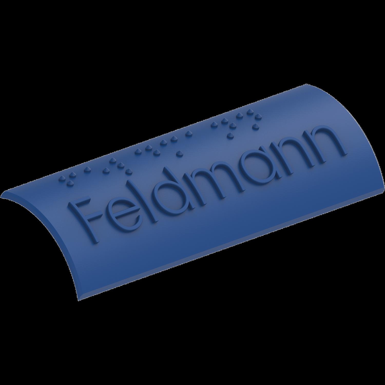 Taktile Handlaufschilder Feldmann