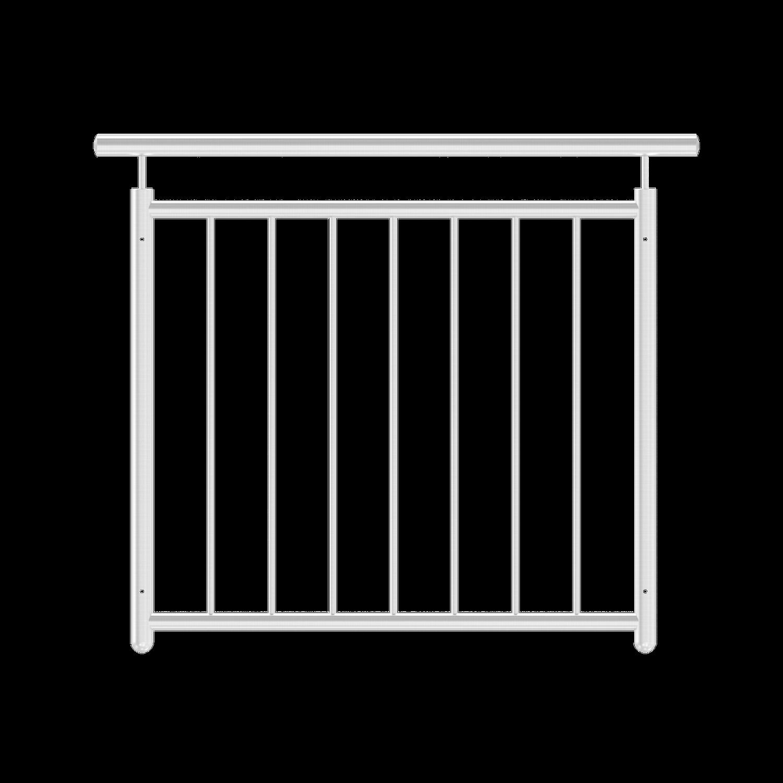 Französischer Balkon gerade