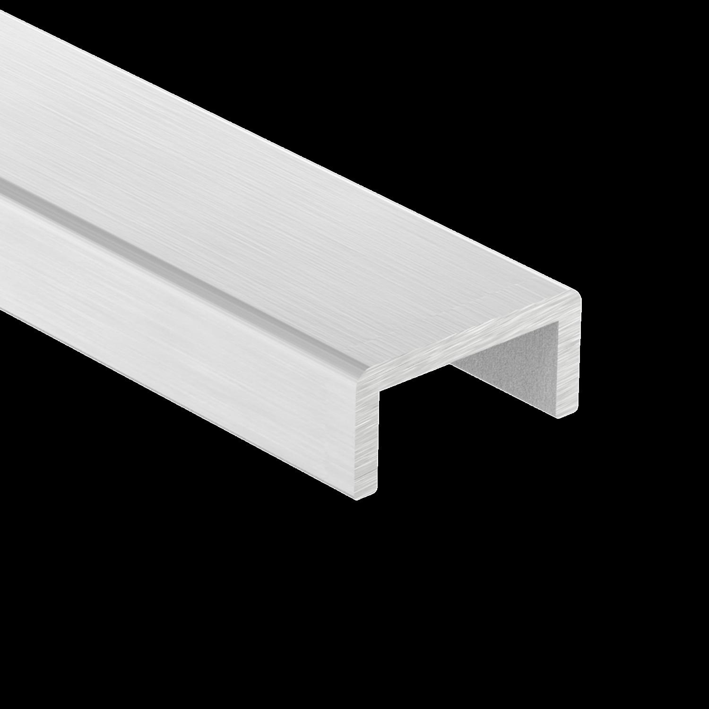 Kantenschutz, statisch geprüft, Aluminium