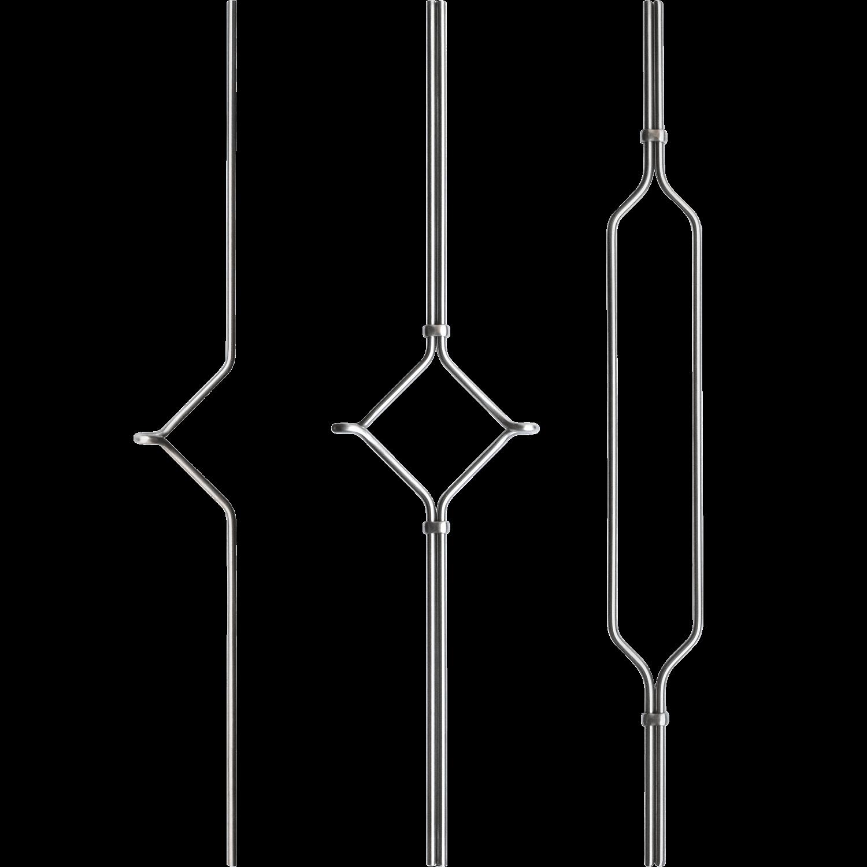 Geländer Designstäbe 1