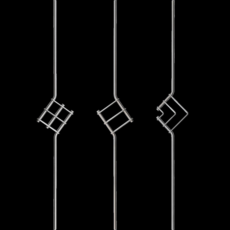 Geländer Designstäbe 4