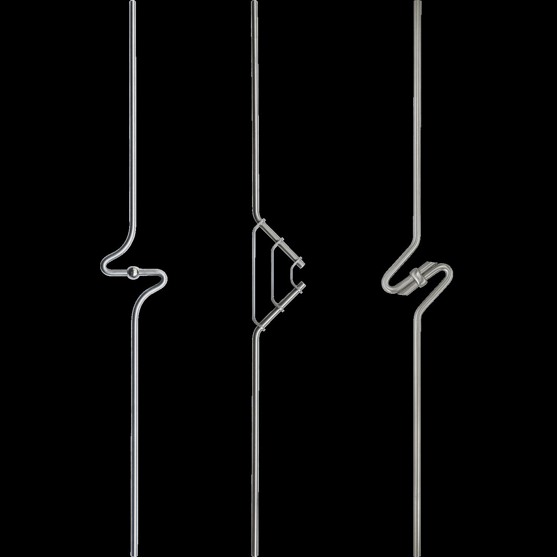Geländer Designstäbe 5