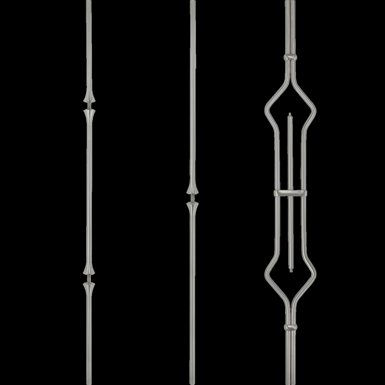 Geländer Designstäbe 8