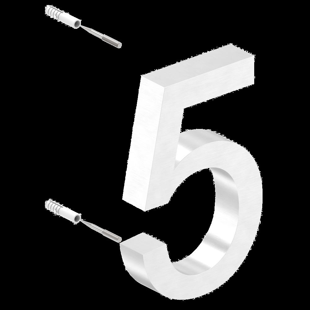 Hausnummer 5, hochwertige Verarbeitung
